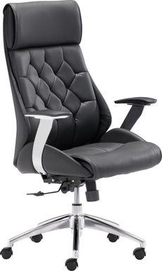 Langley Path Black Desk Chair