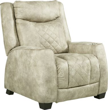 Langton Beige Triple Power Recliner