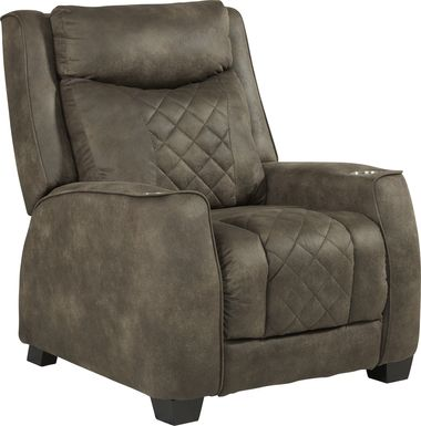 Langton Brown Triple Power Recliner