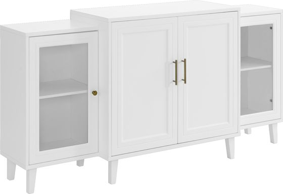 Langwater White Sideboard