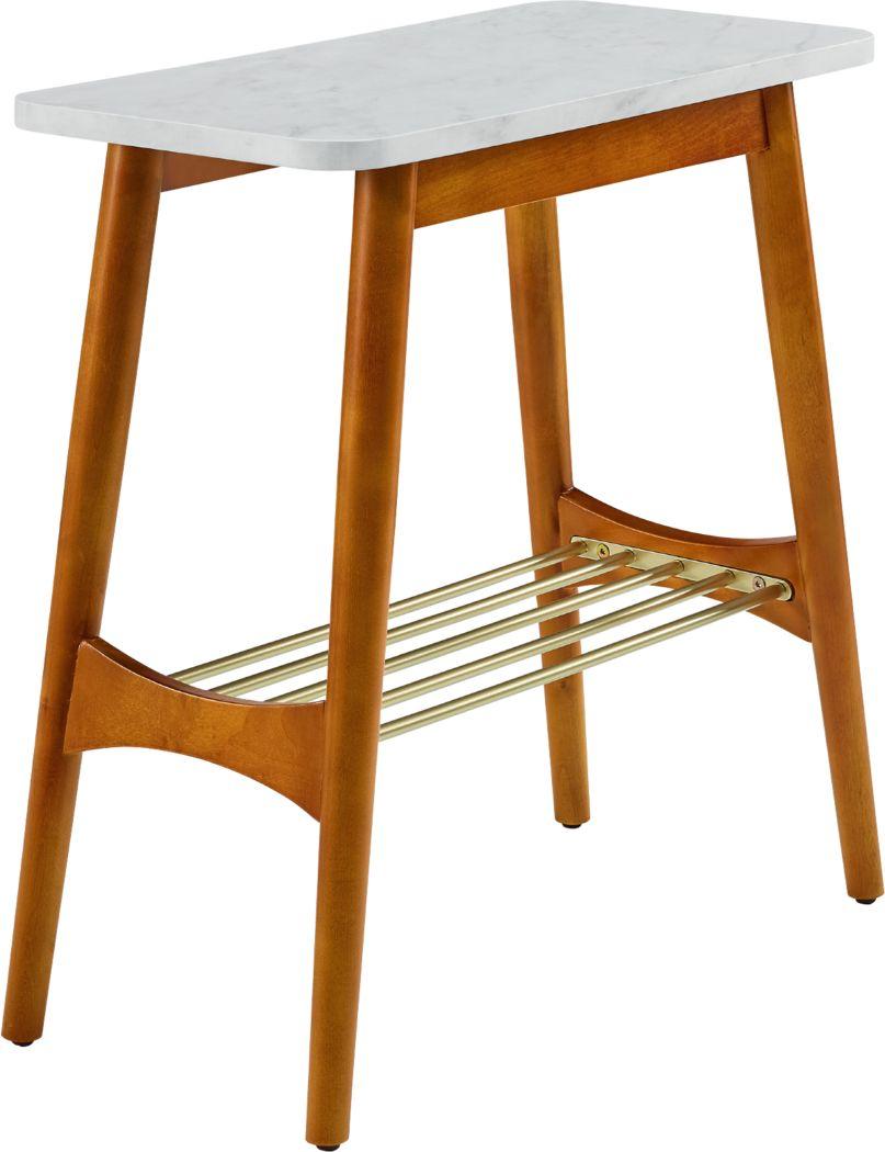 Lanvale White End Table