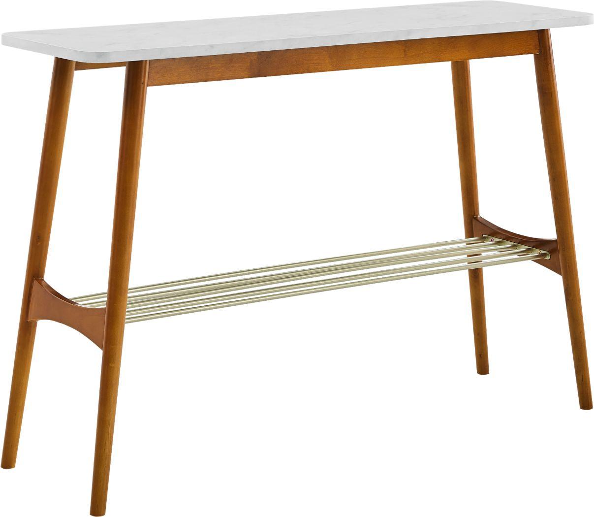 Lanvale White Sofa Table