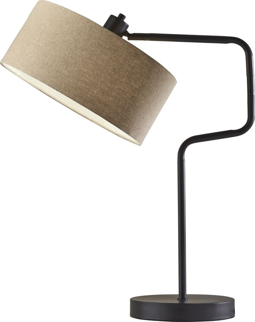 Lariat Circle Bronze Lamp