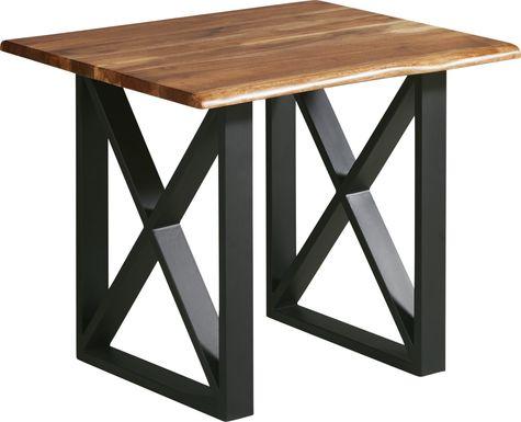 Lark Brown End Table