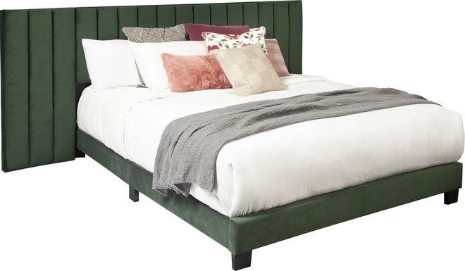 Larkhaven Green King Bed