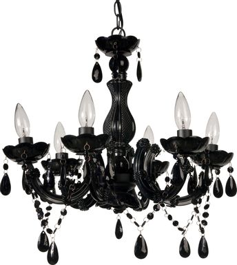 Larkspur Lane Black Chandelier