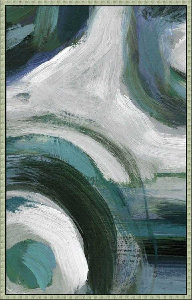 Laswell II Teal Artwork