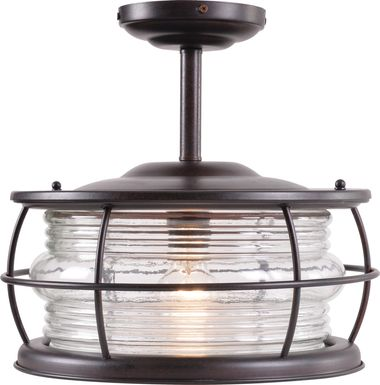 Latika Black Outdoor Chandelier