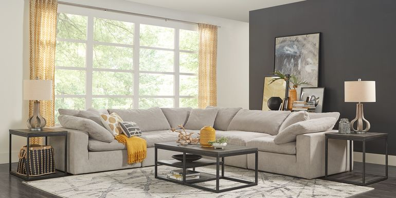 Launi Gray 5 Pc Sectional