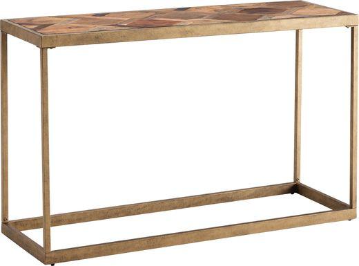 Lauranne Natural Sofa Table