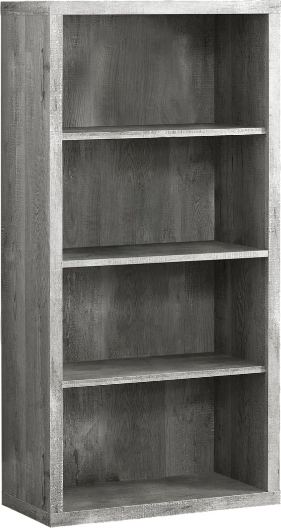 Laureston Gray Bookcase