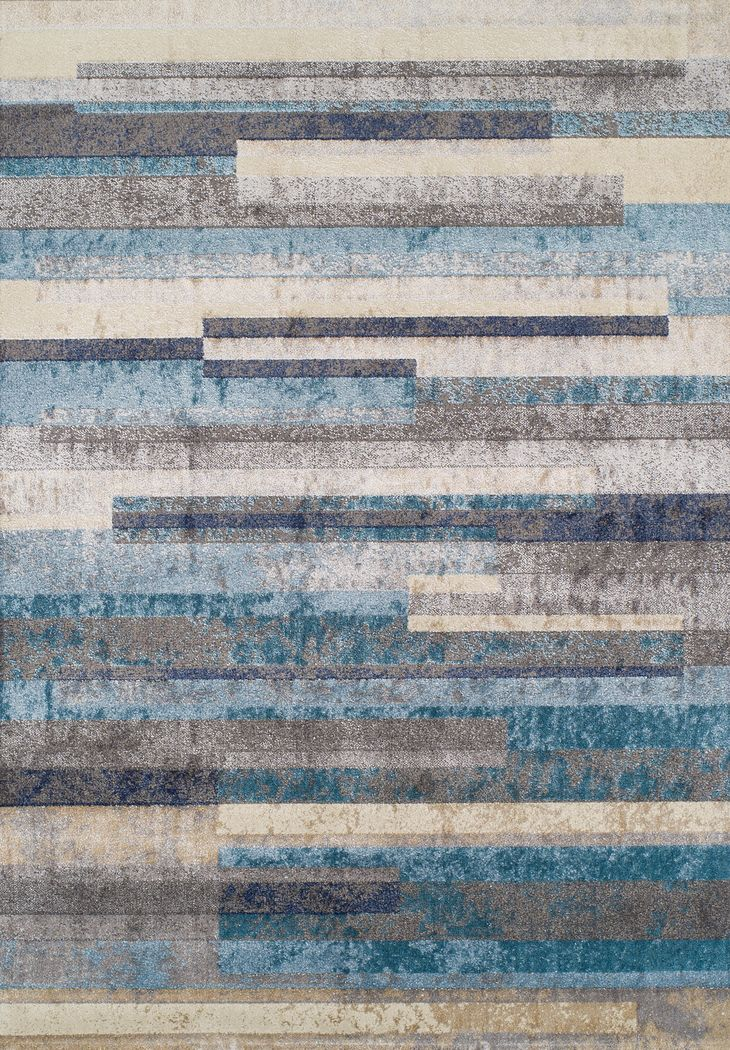 Lauritz Blue 3' x 5' Rug