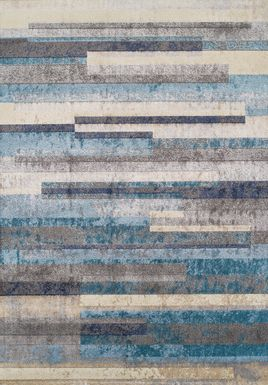 Lauritz Blue 5' x 8' Rug