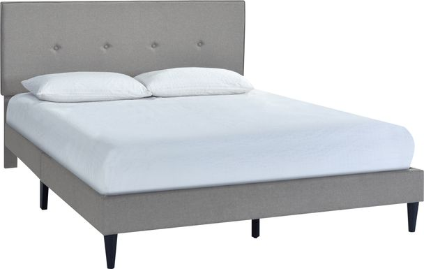 Laventina Gray Queen Bed