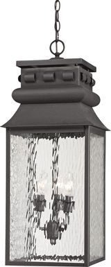 Lavington Gray Outdoor Chandelier