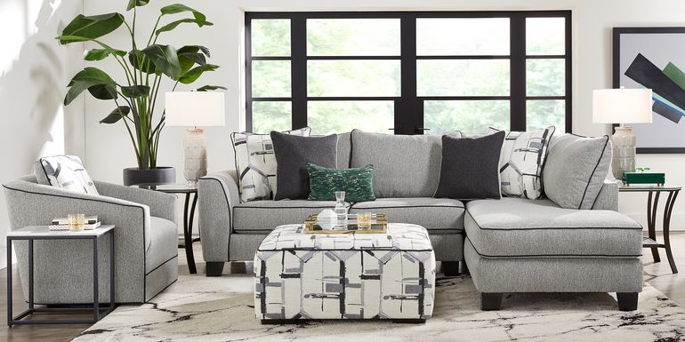 Lawson Landing Gray 2 Pc Sectional