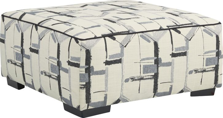 Lawson Landing Gray Accent Cocktail Ottoman