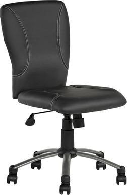 Kids Lawton Black Desk Chair