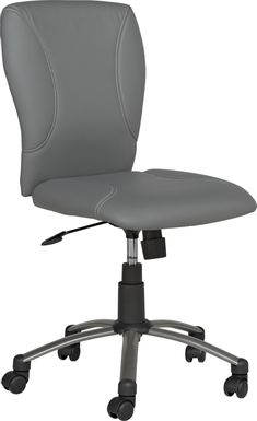 Kids Lawton Gray Desk Chair