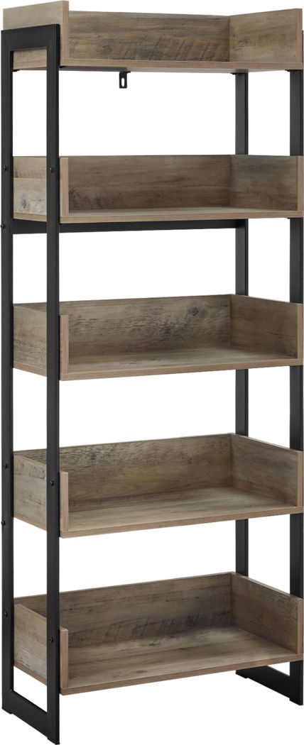 Leadenhall Gray Bookcase