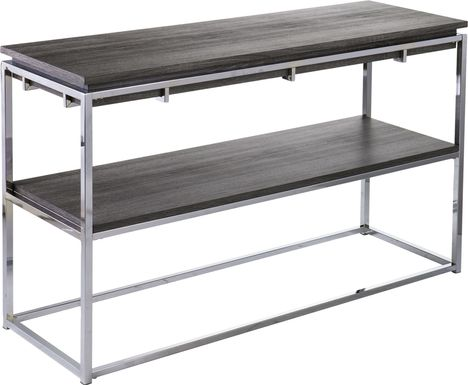 Leaflane Black Oak Console Table