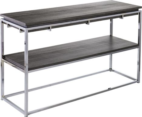Leaflane Black Console Table