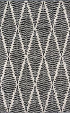 Lealman valley black rug
