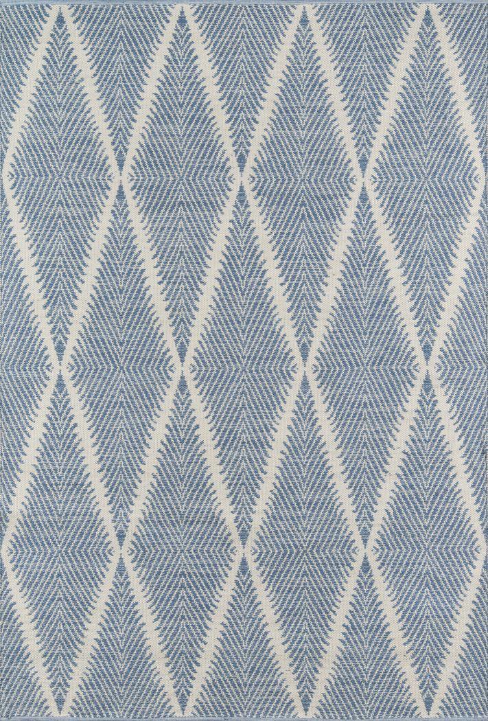 Lealman Valley Blue 5' x 8' Rug