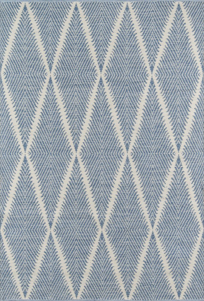 Lealman Valley Blue 7'6 x 9'6 Rug