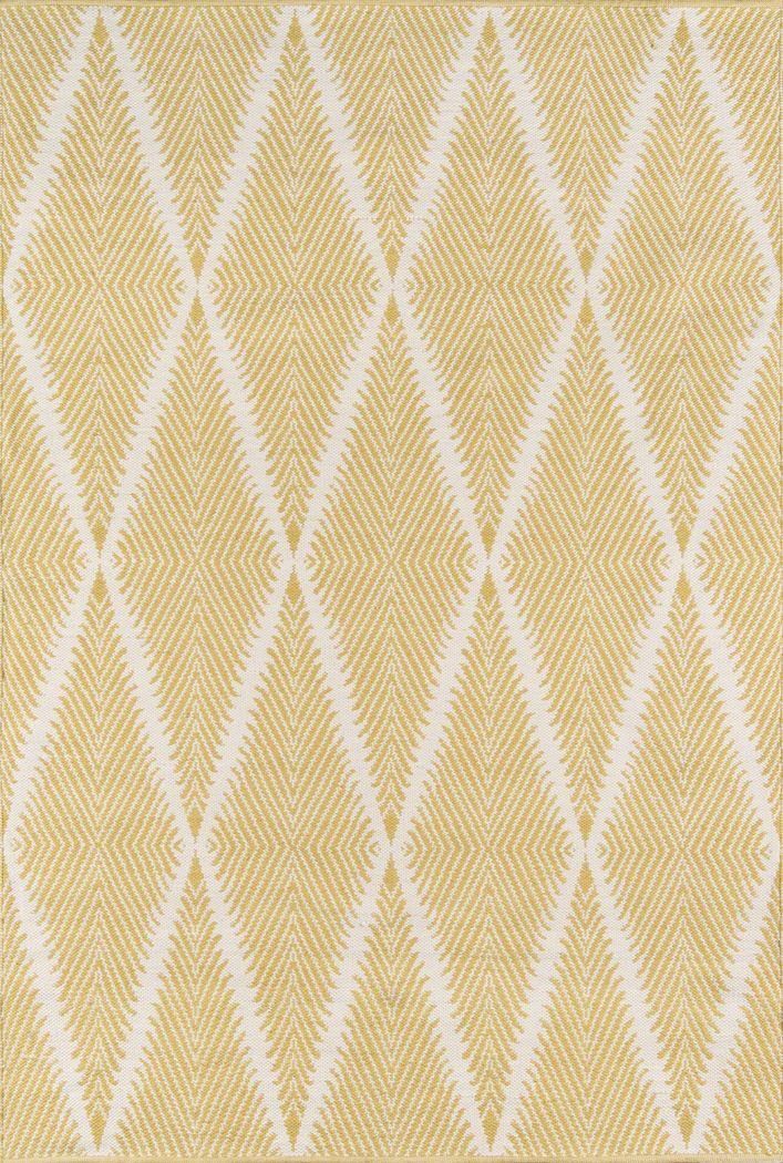 Lealman Valley Yellow 7'6 x 9'6 Rug