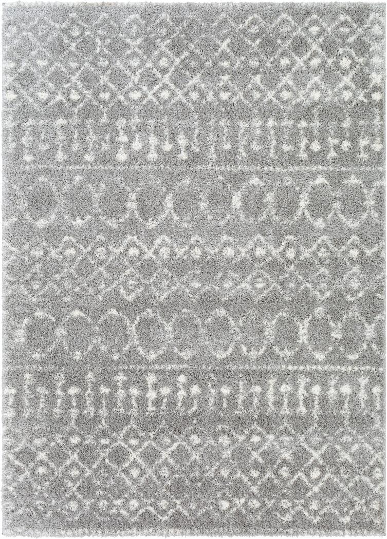 Leara Gray 7'10 x 10' Rug