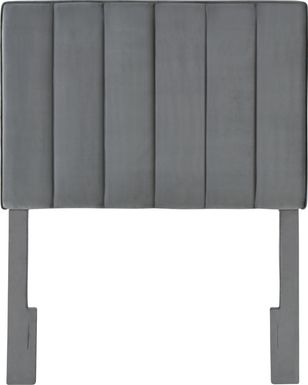 Leasepur Gray Twin Headboard