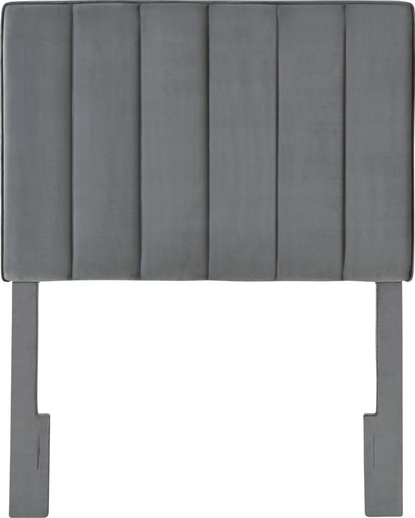 Leasepur Gray Twin Headboard