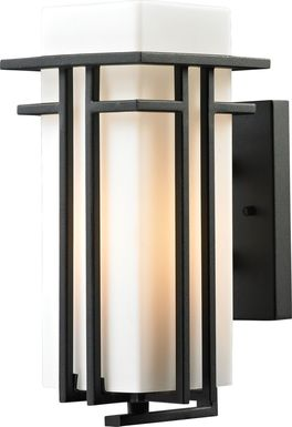 Legare Black Outdoor Wall Sconce