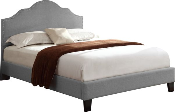 Lenosa Gray Queen Upholstered Bed