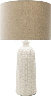 Leon Drive White Lamp