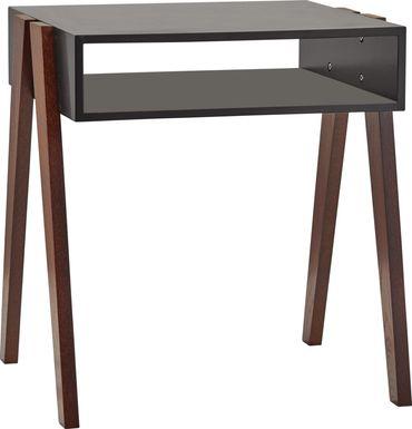 Lerew Black End Table