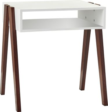 Lerew White End Table