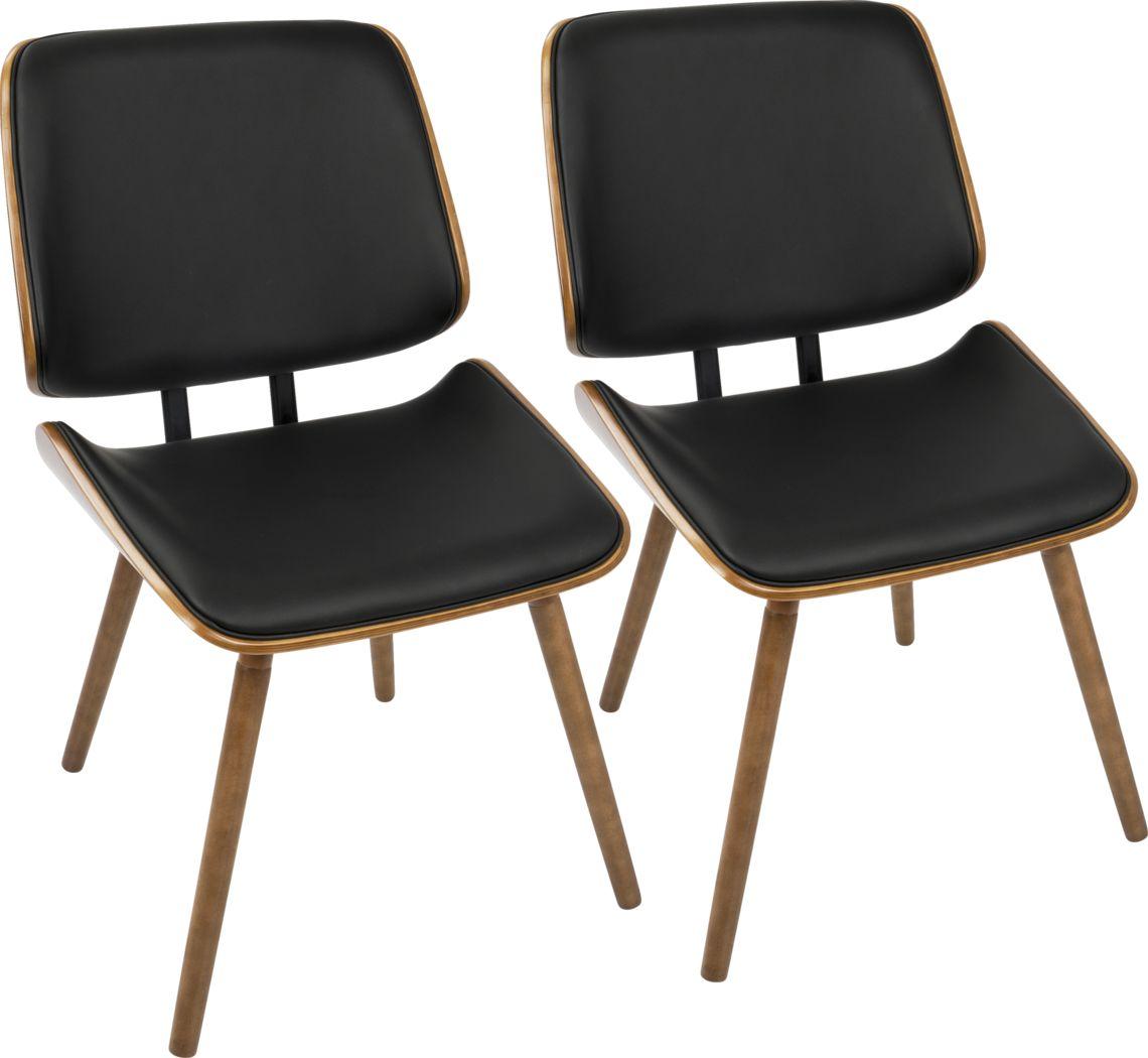 Leverett Black Dining Chair (Set of 2)