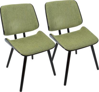 Leverett Green Dining Chair (Set of 2)