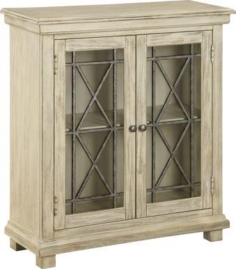 Leycroft Beige Accent Cabinet