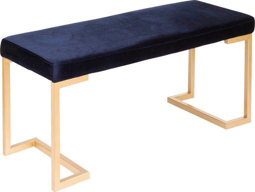 Leyden Blue Bench