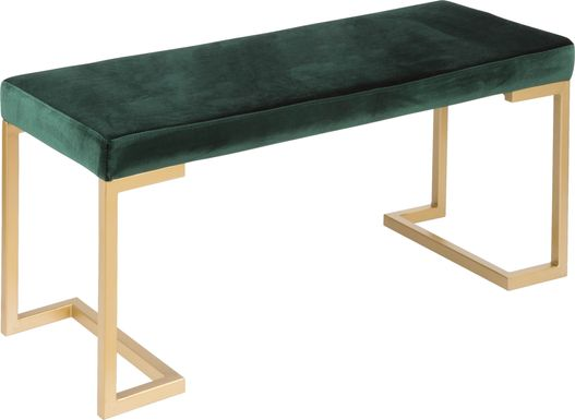 Leyden Green Bench