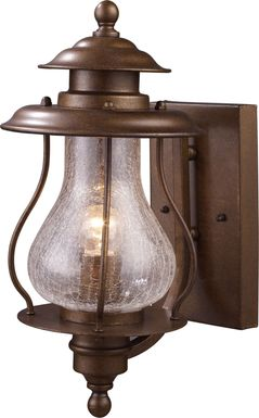 Limbaker Brown Outdoor Wall Sconce
