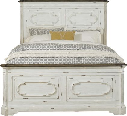 Lindenwood White 3 Pc Queen Panel Bed