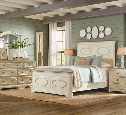 Lindenwood White 5 Pc Queen Panel Bedroom