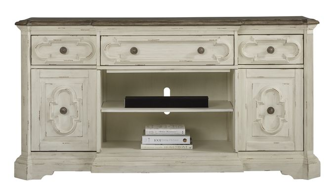 Lindenwood White 72 in. Console
