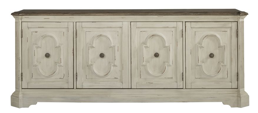 Lindenwood White 84 in. Console