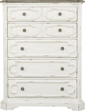 Lindenwood White Chest