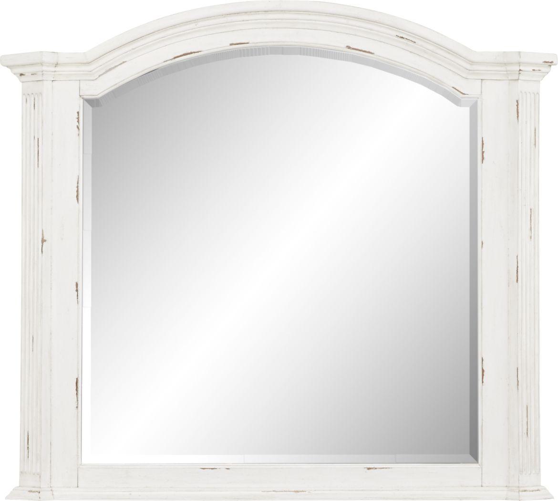 Lindenwood White Mirror